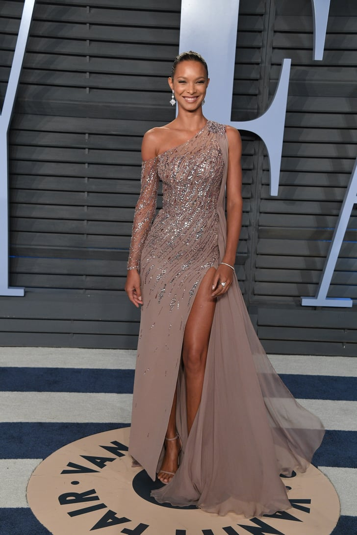 Lais Ribeiro Vanity Fair Oscars Party Dresses 2018