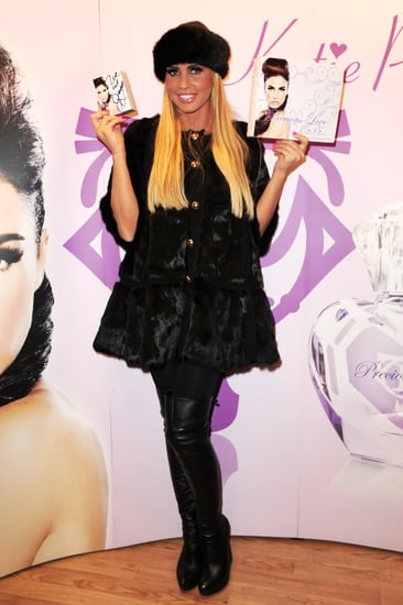 Pictures of Katie Price With Blonde Hair at Precious Love Perfume Signing in Croydon