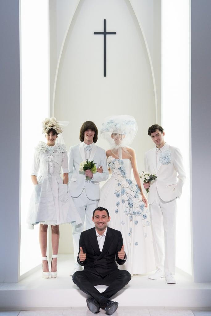 diesel s denim wedding dress popsugar fashion photo 2