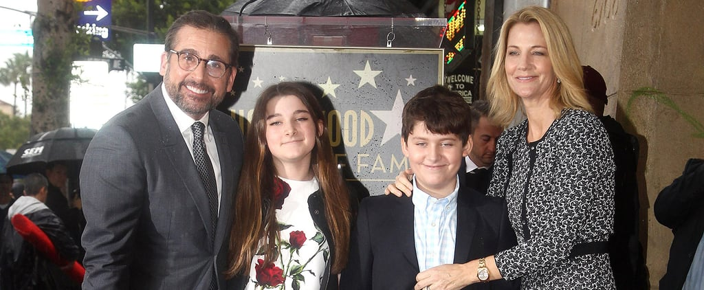 Steve Carell Is Joined by His Family — and Ryan Gosling! — at His Walk of Fame Ceremony