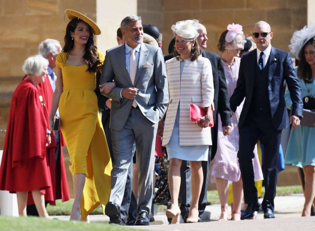 Tom attended Prince Harry and Meghan Markle's May 2018 wedding at St. George's Chapel alongside George and Amal Clooney.