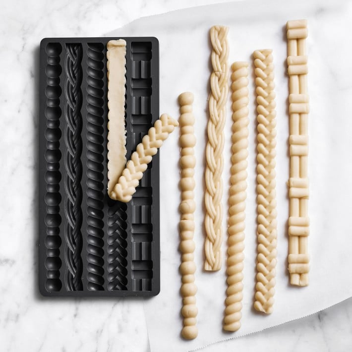 Williams Sonoma Silicone Perfect Pie Crust Mold