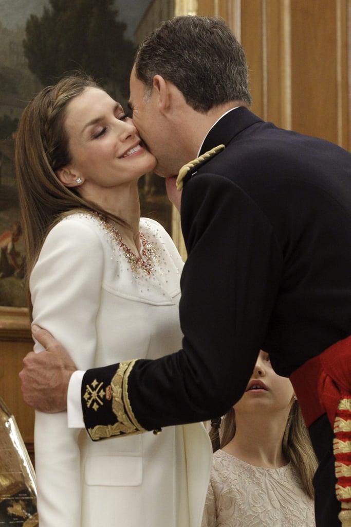 Картинки по запросу queen letizia and king felipe love