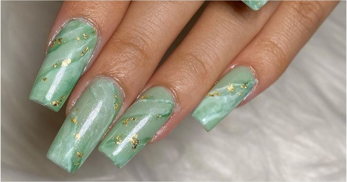This Celebrity-Approved Green Jade Nail-Art Trend Is Perfect For Fall.jpg