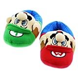 Super Mario Brothers Plush Slippers