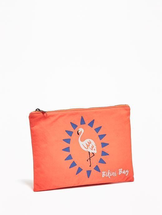 Patterned Bikini Bag