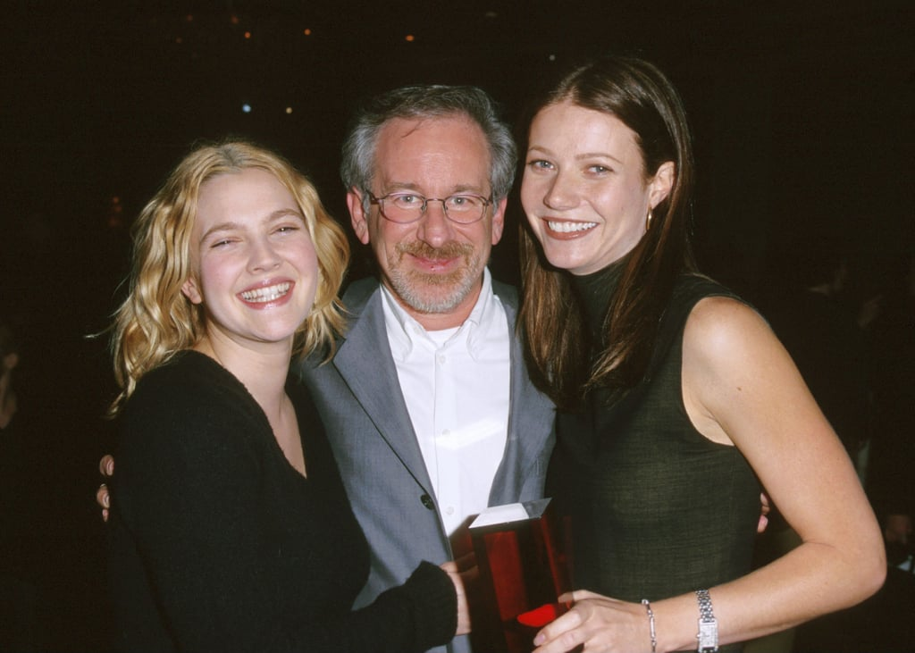 Image result for drew barrymore gwyneth paltrow steven spielberg