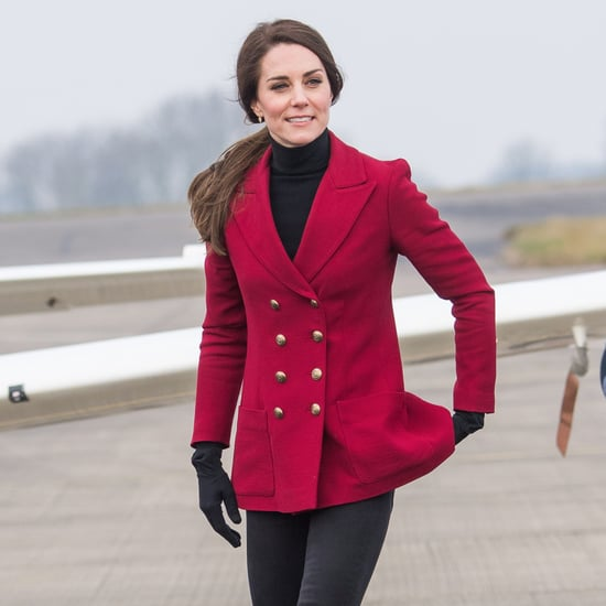 Kate Middleton Wears Philosophy di Lorenzo Serafini Blazer