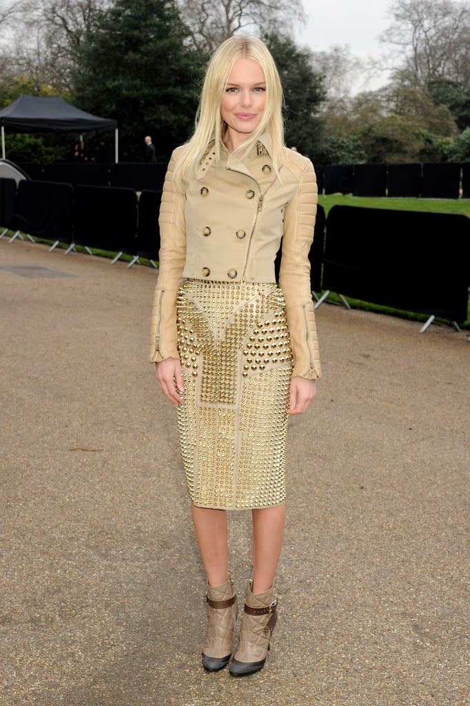 Rachel Bilson and Kate Bosworth Claim Front-Row Seats at Burberry