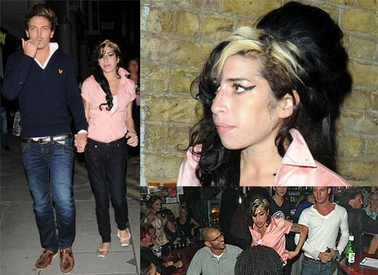 Photos Of Amy Winehouse Out In London With Tyler James Singing At Jazz After Dark