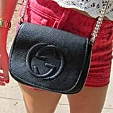 The new Gucci Soho chain-strap purse made its music festival debut!