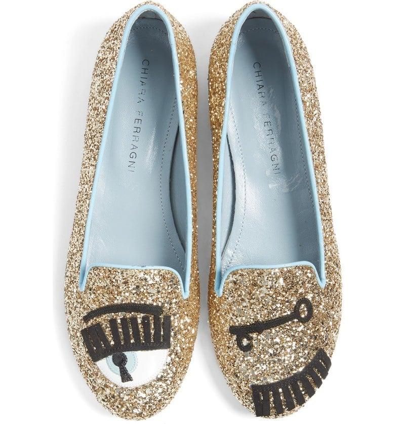 cheap for discount ec72b fe843 Chiara Ferragni Flirting Flat   Wink Shoes   POPSUGAR ...
