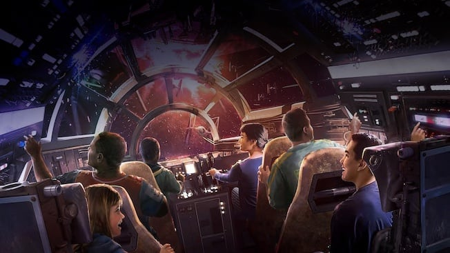 Image result for smugglers run disney