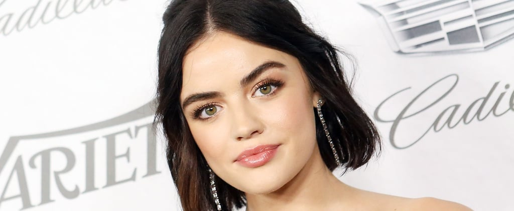 Lucy Hale Brond Hair Color October 2018