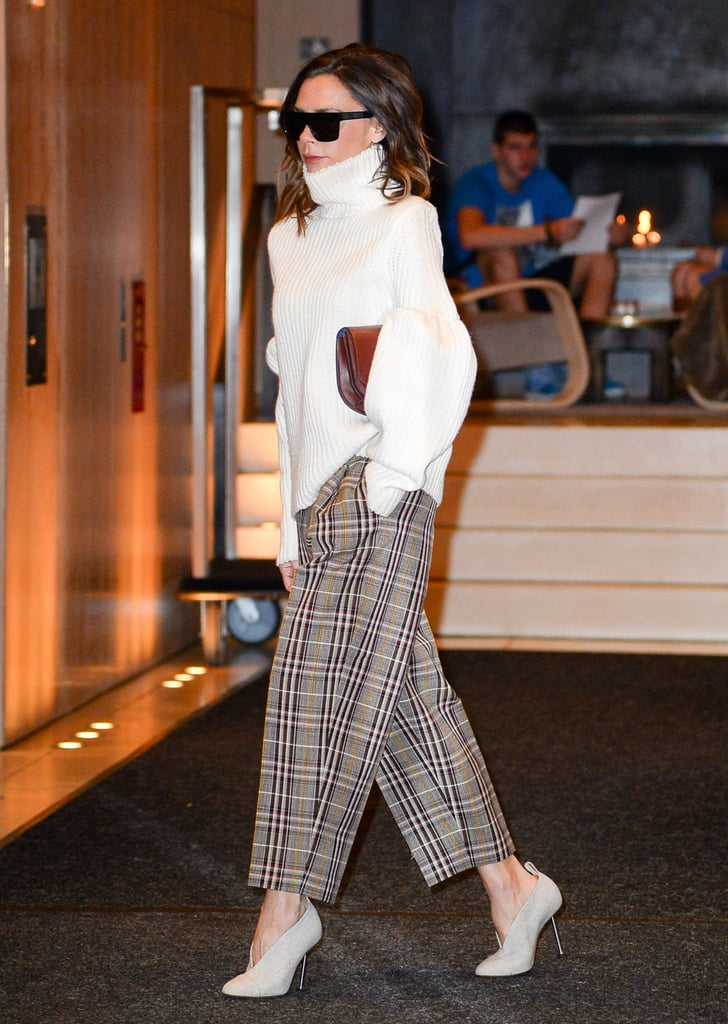 2018 Unisex Cheap Online Buy Cheap Find Great Victoria Beckham plaid trousers Sale Supply z7f1Uuk