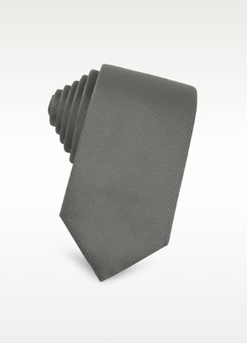 Christian Dior Solid Textured Silk Blend Tie