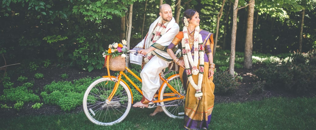 This Vibrant Backyard Hindu Wedding Will Fill Your Heart With Joy