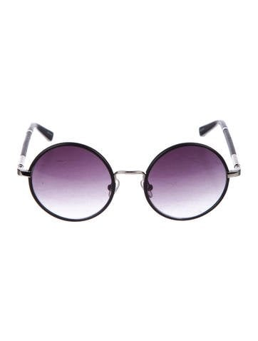 The Row Round Gradient Sunglasses
