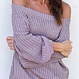 Beautife Off-the-Shoulder Sweater