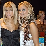 Nicole Richie snapped a photo with Jessica Simpson at the 2003 Billboard Music Awards in Las Vegas.