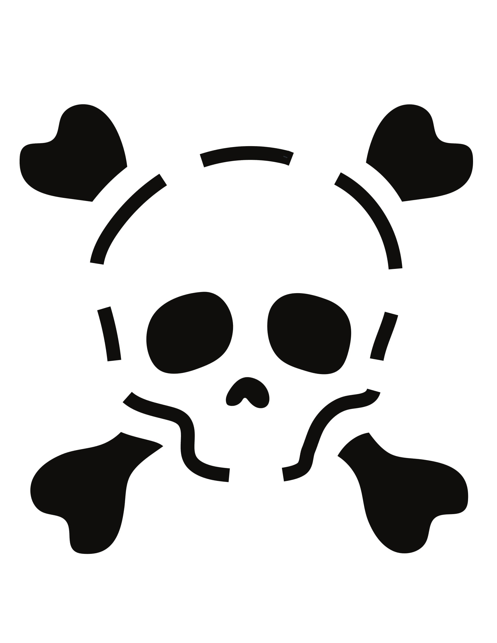 Skull 20 Pumpkin Carving Templates That Ll Take Your Jack O Lantern Game To The Next Level Popsugar Smart Living Photo 21