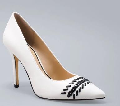 Whipstitch Leather Heel