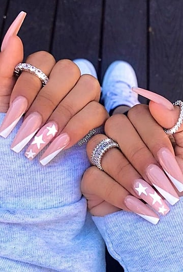 Side-Tip Nail Art Trend