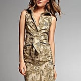 We love the unique feel of this shirtdress and the fact that it transitions easily from work to off-duty hours.  Victoria's Secret Sleeveless Shirtdress ($40)