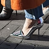 These heels were made for stomping the streets at Fashion Week.