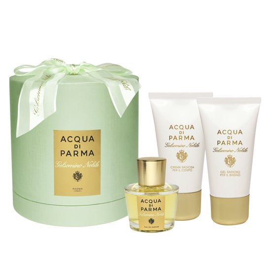 The baby green packaging of Acqua di Parma Gelsomino ($122) is already decked out with a bow, so all you have to do is slip it under your tree.
