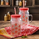 The Pioneer Woman Simple Homemade Goodness 32-Ounce Double-Wall Mason Jar with Lid and Handle, Set of 2 ($13)