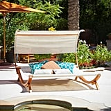 Sunbed with Canopy ($1,190)