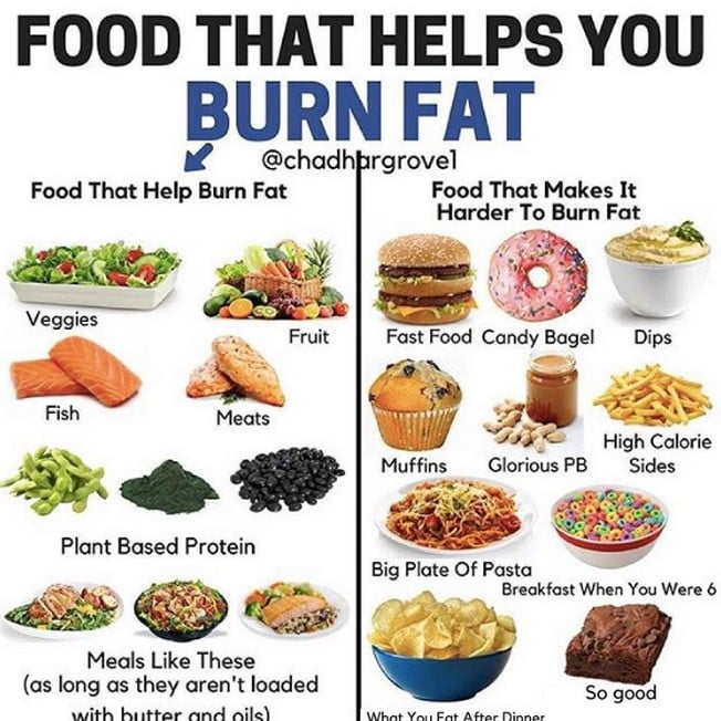 best dinner to burn fat