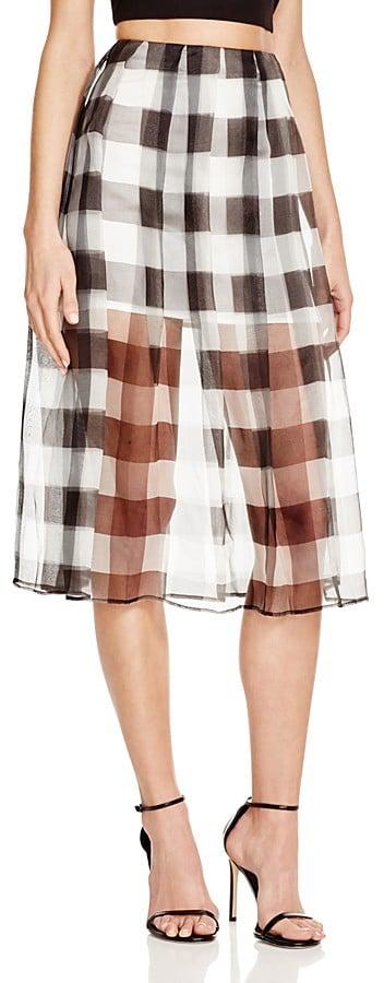 Similar Gingham Skirt
