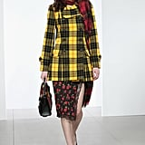 Michael Kors Sent a Similar Yellow Plaid Jacket Down the Fall 2018 Runway