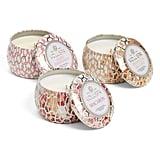 Voluspa Maison Blanc Mini Tin Candle Set