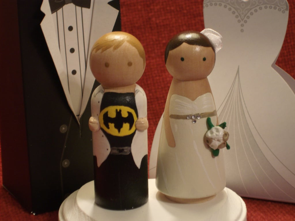 Batman and His Bride Cake Toppers ($60)