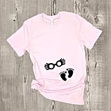 Luna Lovegood Glasses Maternity Shirt