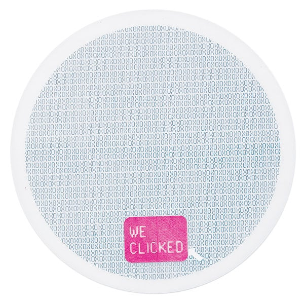 """We Clicked"" Mouse Pad"