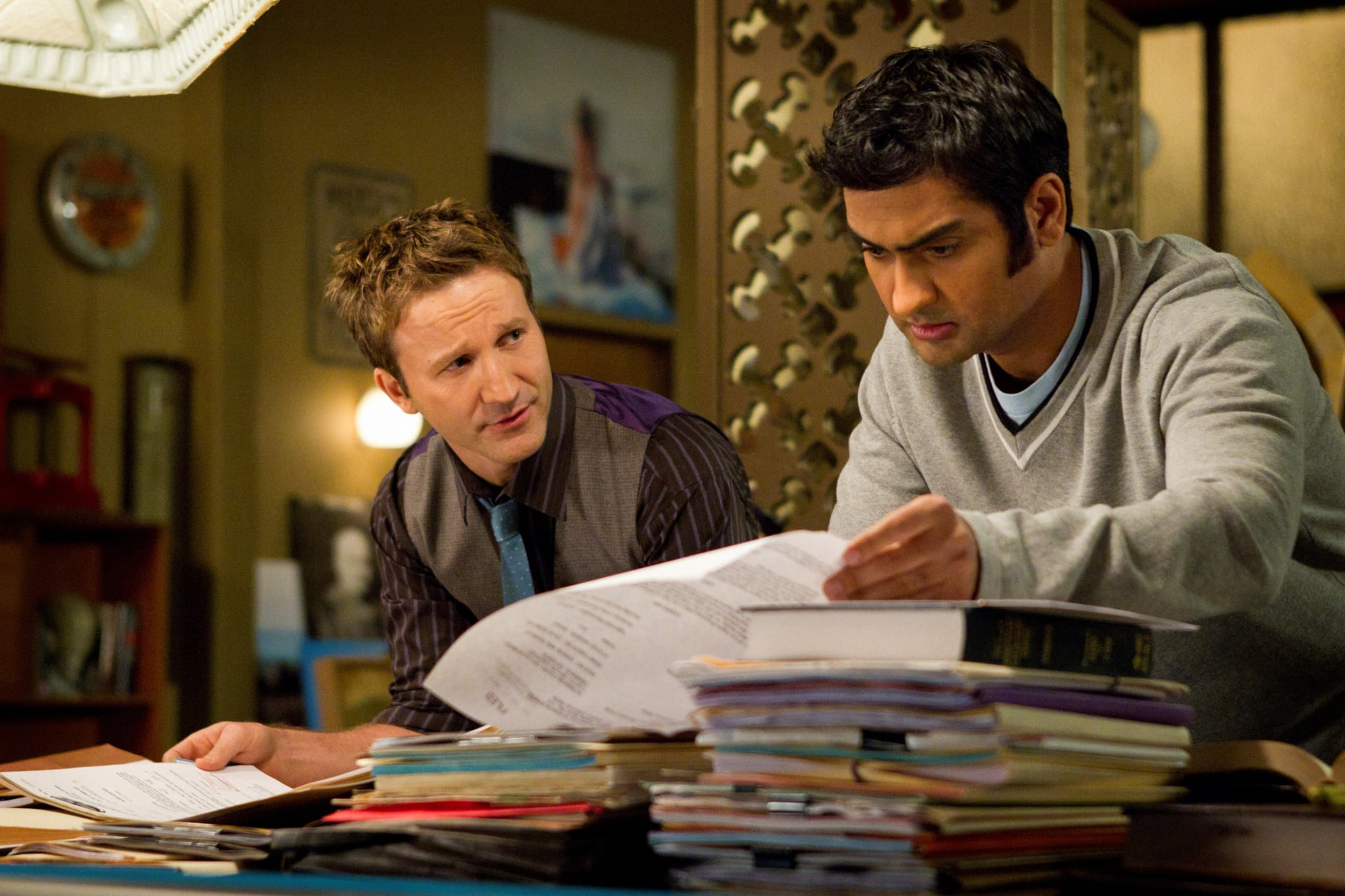 FRANKLIN AND BASH, (from left): Breckin Meyer, Kumail Nanjiani, 'Viper', (Season 2, ep. 202, aired June 12, 2012), 2011-. photo: Doug Hyun /  TNT / Courtesy: Everett Collection