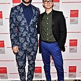 Christian Siriano and Brad Walsh