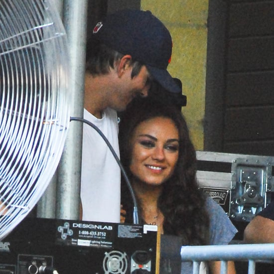 Mila Kunis and Ashton Kutcher at Taste of Chicago | Pictures