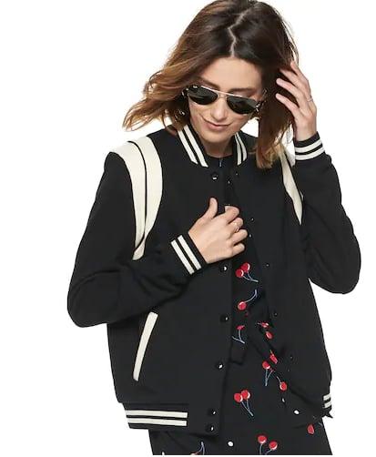 Athletic Bomber Jacket