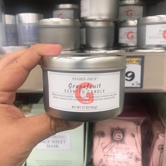 Trader Joe's Grapefruit Candles April 2019