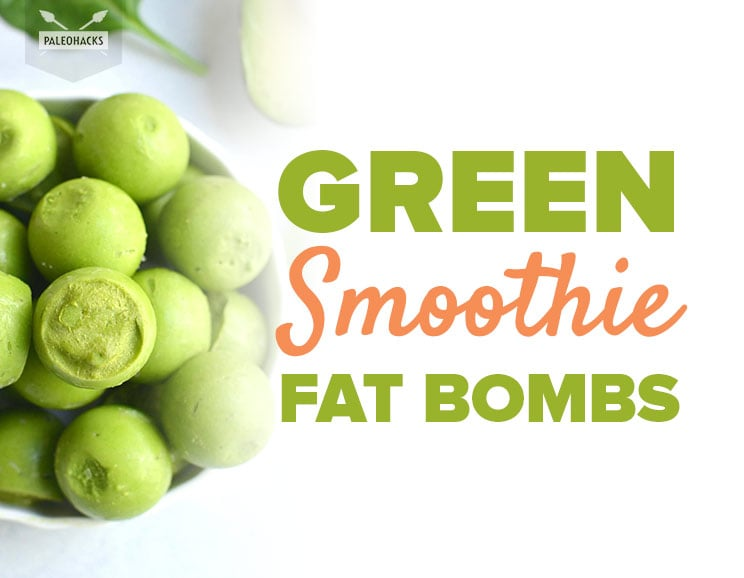 4-Ingredient Green Smoothie Bombs That Make on-the-Go Snacking SO Easy