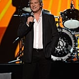 Jeff Bridges took to the stage to introduce a music act.
