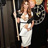 Jemima Khan as Melania Trump in 2016