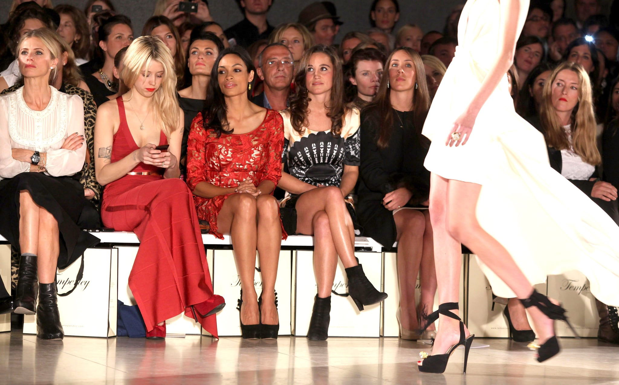 Pippa Middleton Pictures Front Row At Temperley Runway