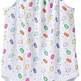 Jumping Beans Print Cinched Bodysuit