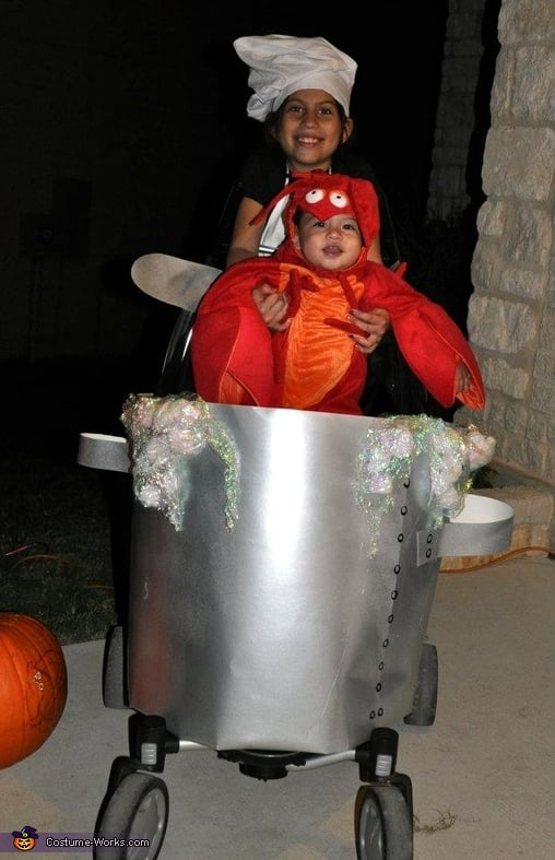 Lobster In A Pot Stroller Costumes For Halloween Popsugar Family